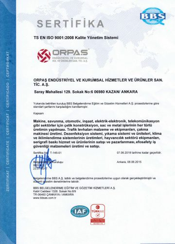 Orpas ISO  TR