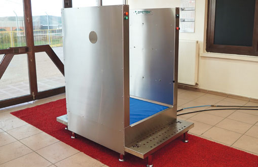 SM50 - Disinfection System for Clothes Disinfection and Shoe Bottom Disinfection With Mat 5
