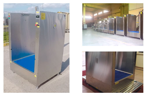 SM50 - Disinfection System for Clothes Disinfection and Shoe Bottom Disinfection With Mat 6