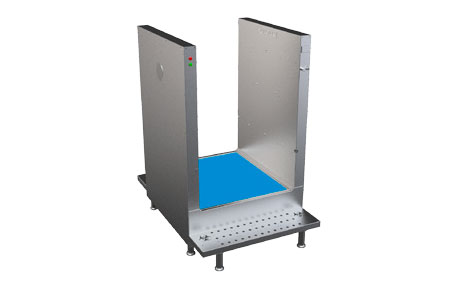 SM50 - Disinfection System for Clothes Disinfection and Shoe Bottom Disinfection With Mat 3